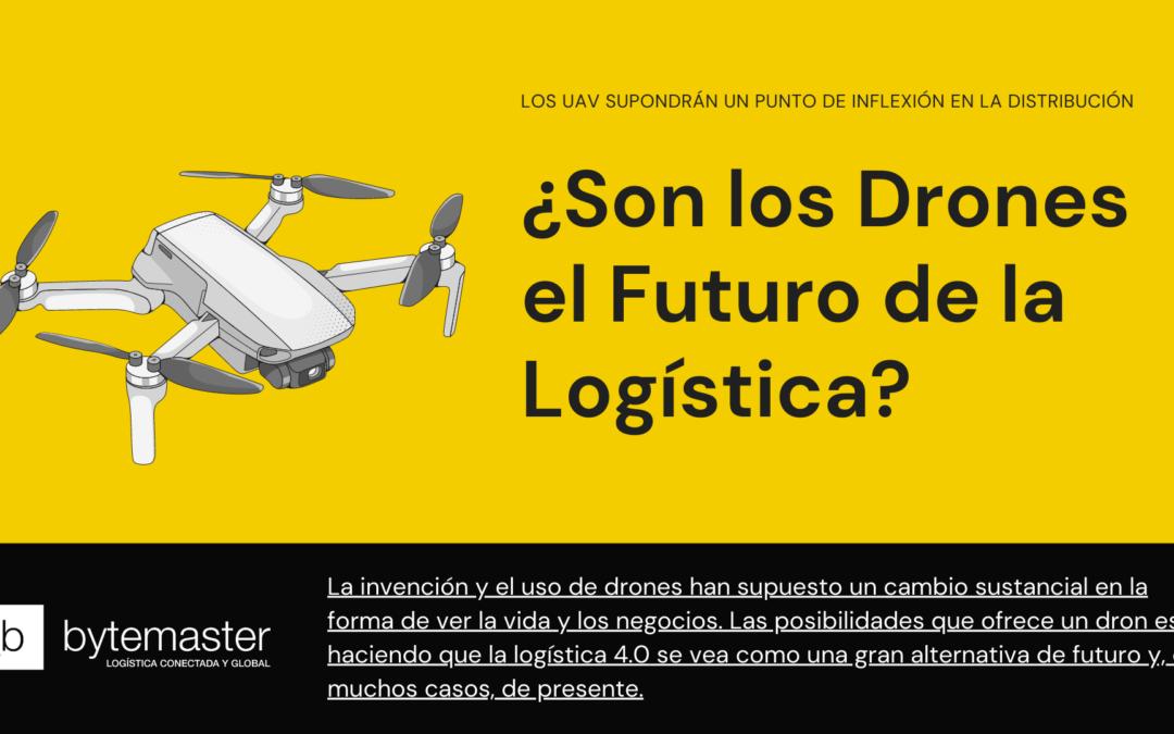 Drones logistica del futuro