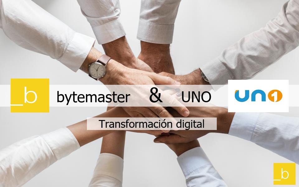 Bytemaster y UNO digitalizando el sector logistico