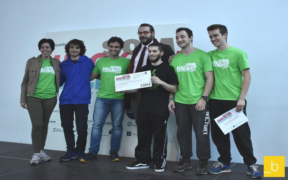 Mentores de la Hackathon del TecnoCampus