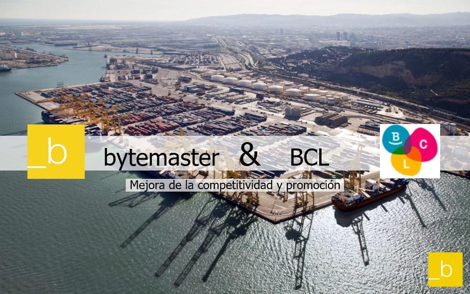 Bytemaster y BCL para la Digitalización del Sector Logístico Catalán