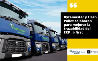 Bytemaster y Palletways colaboran para mejorar la trazabilidad del ERP _b first