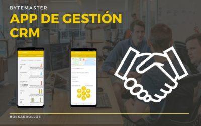 App de Gestión CRM   Nueva App para Gestión Comercial