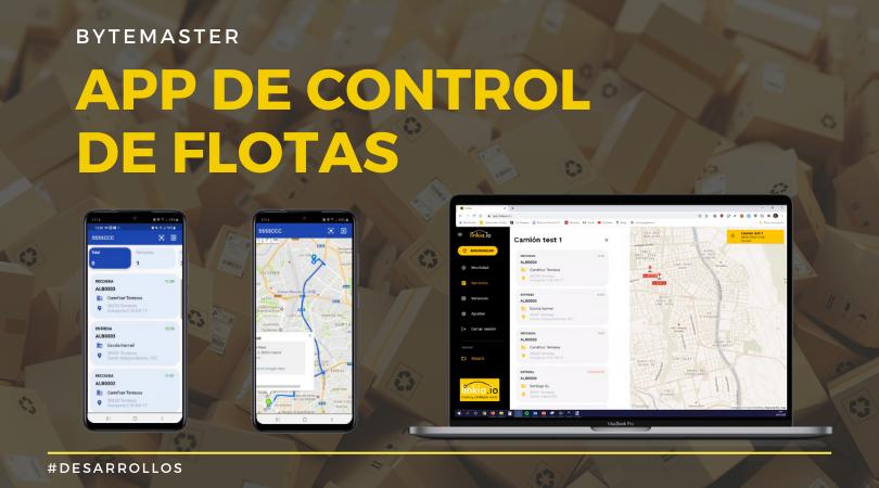 App de Control de Flotas – Nueva App de Bytemaster